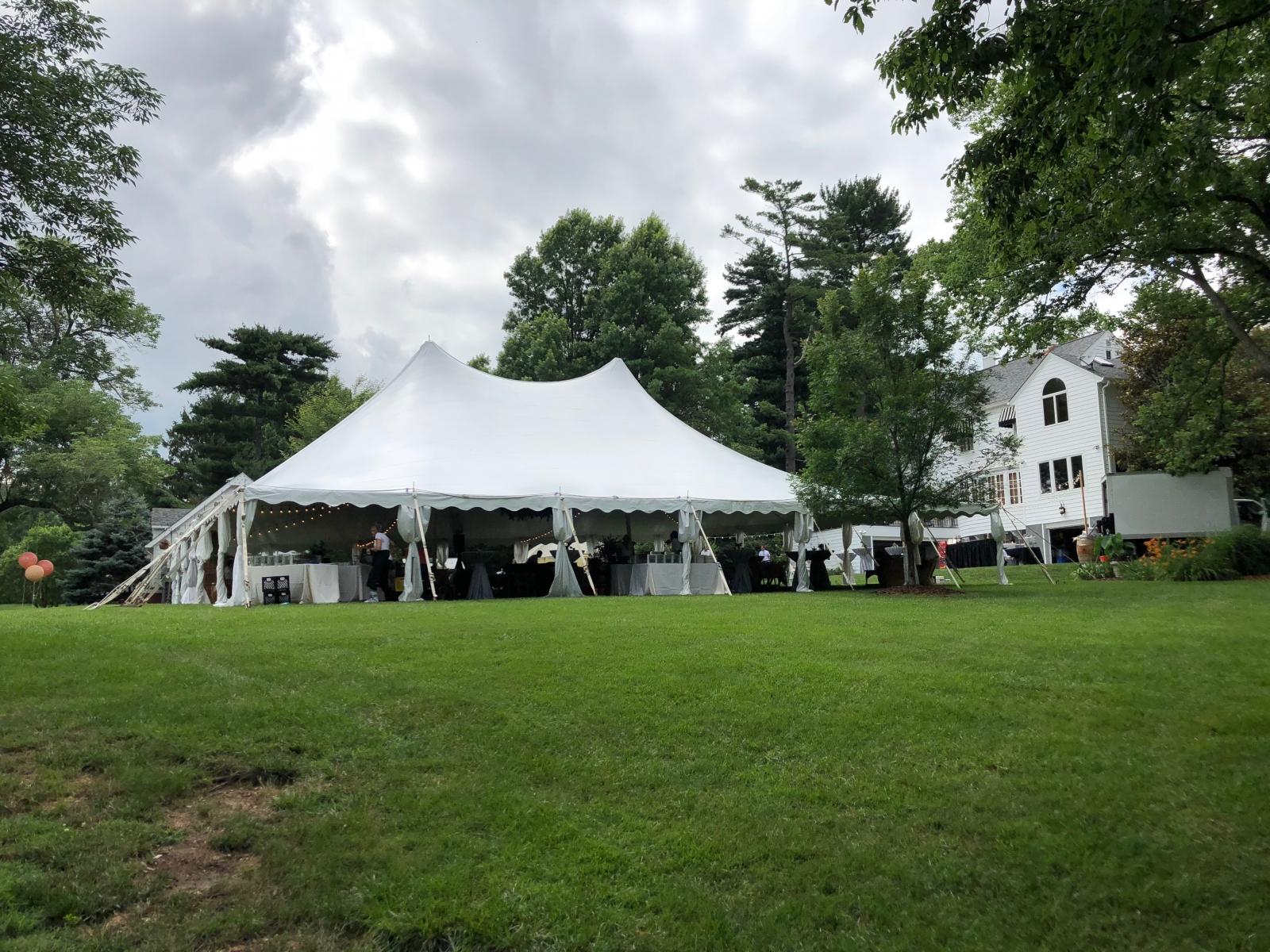 60x60 twin pole tent 1