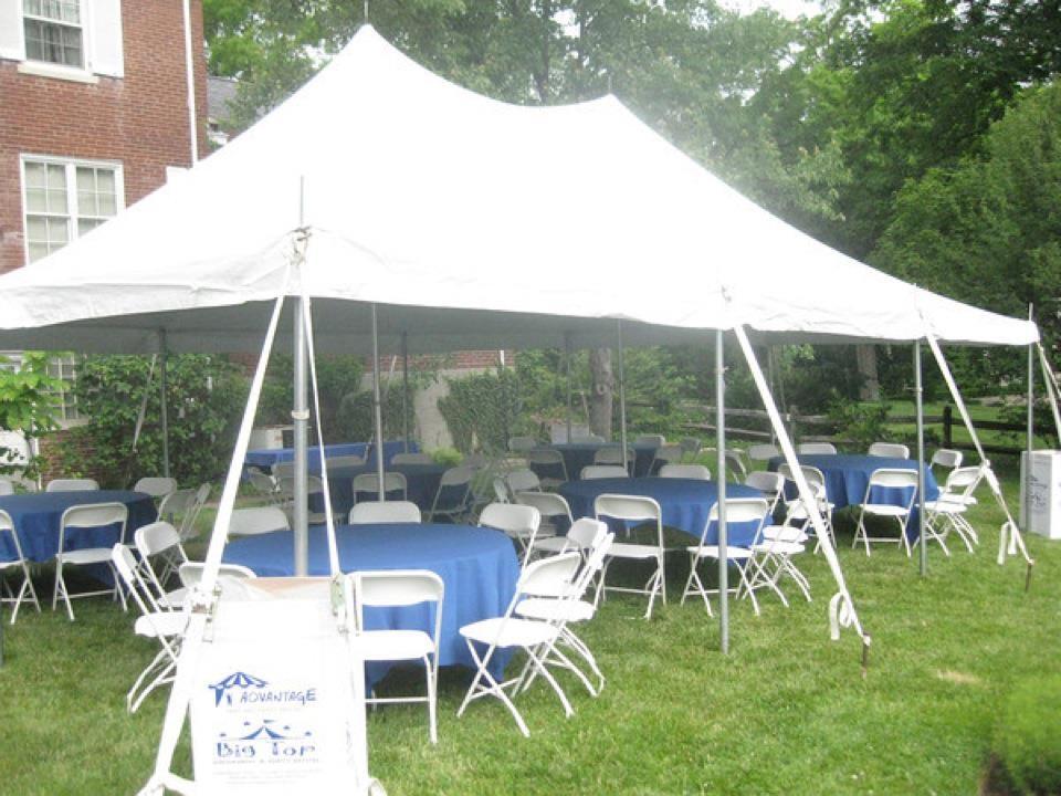 Backyard Party Tents   Advantage Tent Rental
