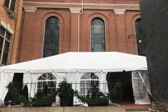 30x45 Frame Tent bell