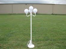 Four Globe Lamp