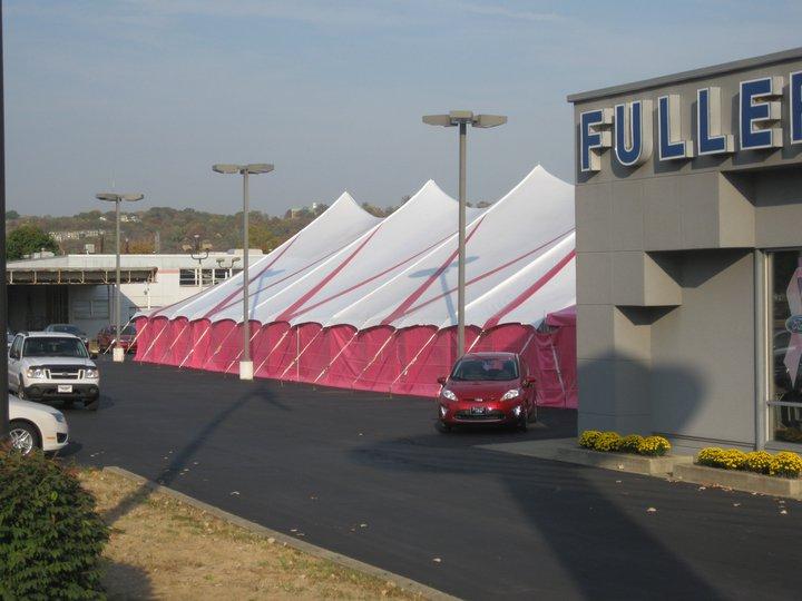 50'x100′ Pole Tent