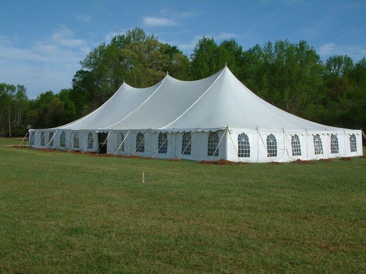 60'x120′ H.P. Pole Tent