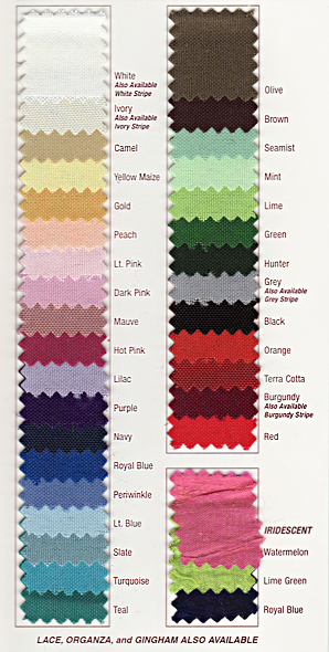 90″ Round Polyester Linens