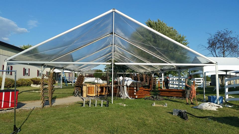 Jumbo-Trac Gable End Frame Tents
